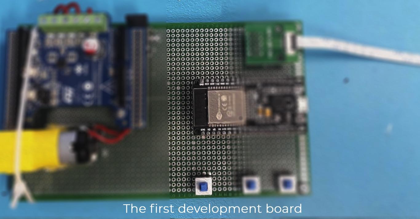 The First Development board of smart box